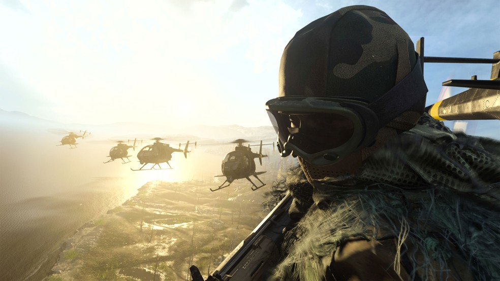 A regra em Warzone é clara: nunca se comportar de forma tóxica, sob nenhuma hipótese ou momento — Foto: Divulgação/Activision