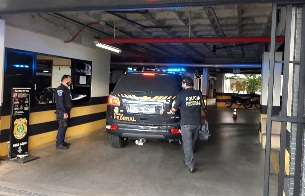 PF prende homem acusado de fazer compras online utilizando moeda falsa no RN — Foto: Divulgação/PF