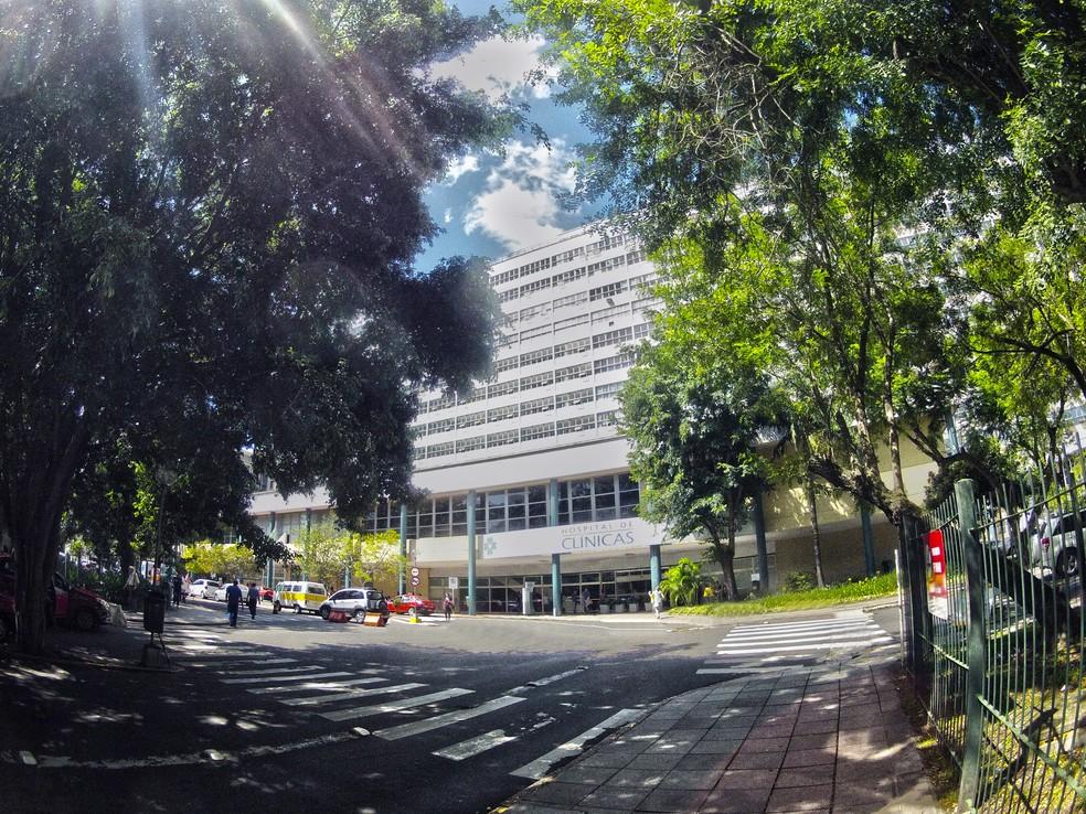 Hospital de Clínicas, em Porto Alegre— Foto: Divulgação/Hospital de Clínicas