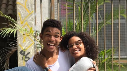 Heslaine Vieira e Juan Paiva gravam segundo episódio exclusivo de 'Viva a Diferença'