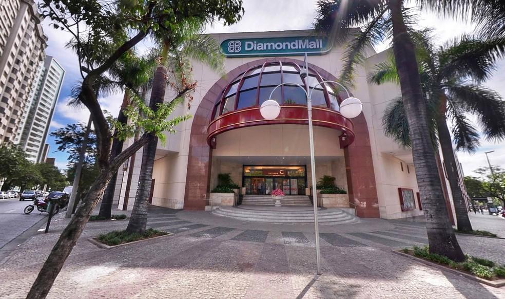 Shopping Diamond Mall — Foto: Reprodução/Site oficial do Diamond
