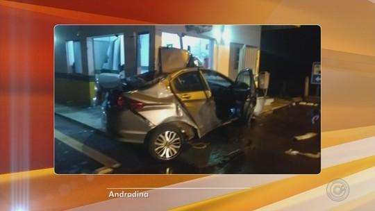 Motorista morre após bater em prédio de concessionária de rodovia em Andradina
