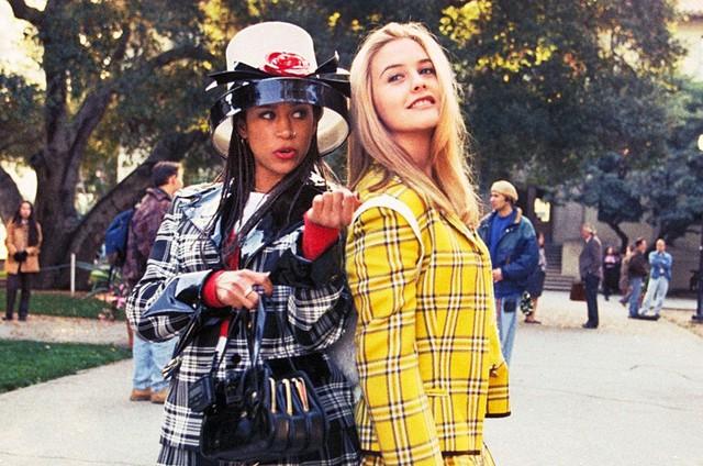 Alicia Silverstone e Stacey Dash em cena de 'As patricinha de Beverly Hills' (Foto: Reprodução)
