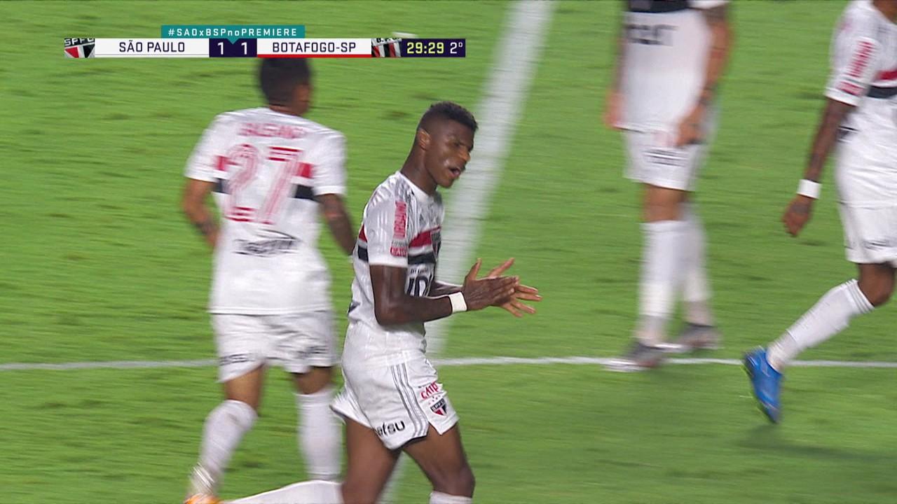 São Paulo 1 x 1 Botafogo-SP