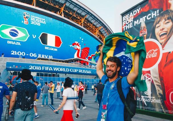 Raul Aragão em Kazan (Foto: Glamour Brasil)
