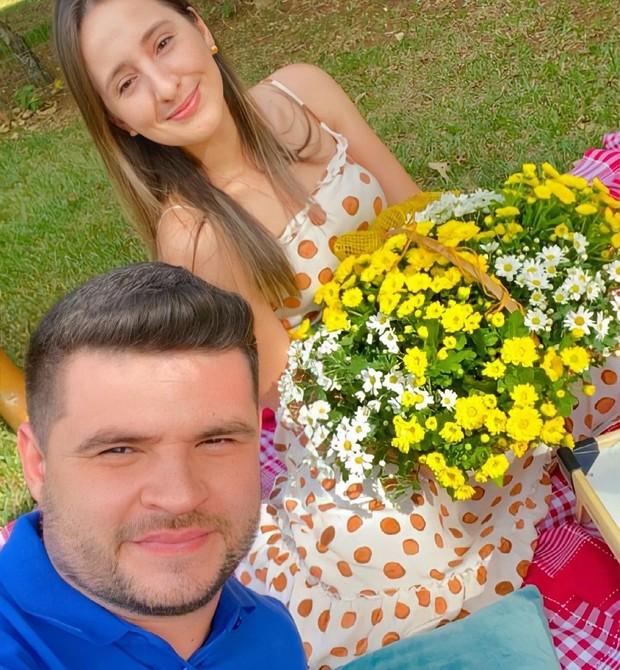 Anieli e Luis Fernando (Foto: Reprodução/Instagram)