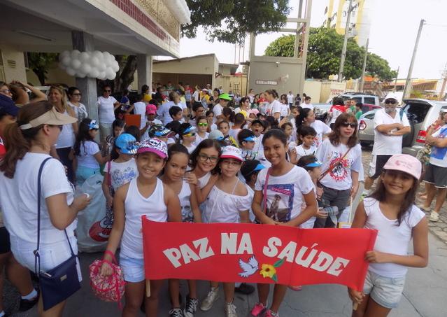 Caminhada da Paz percorre ruas de Natal neste sábado (24)