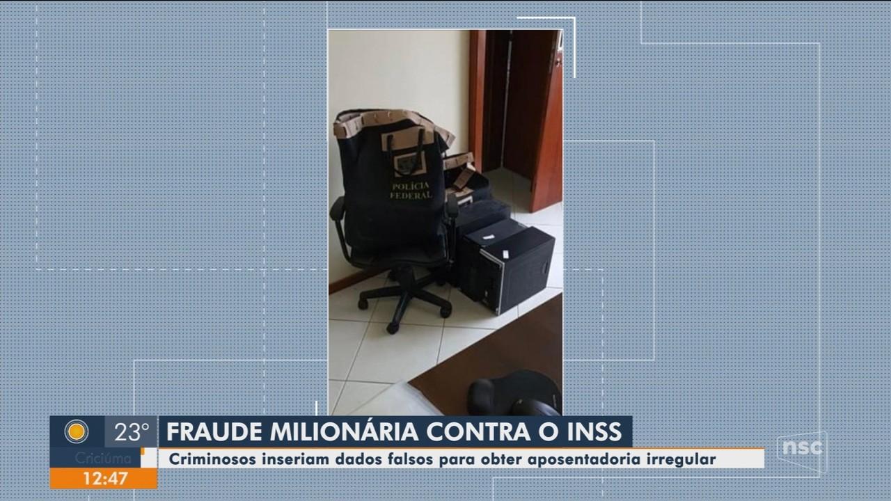 Operação é deflagrada em SC contra supostas fraudes ao INSS