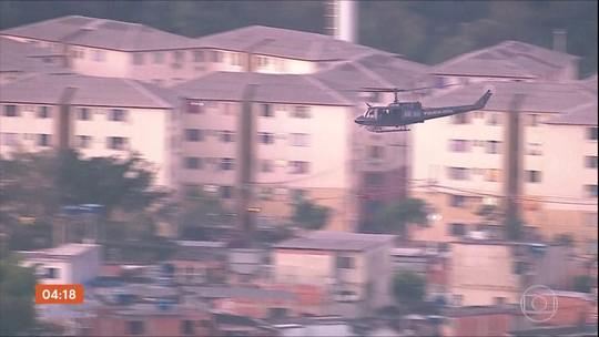 Polícia do RJ fez 14 operações na região metropolitana da cidade; tiros assustam moradores