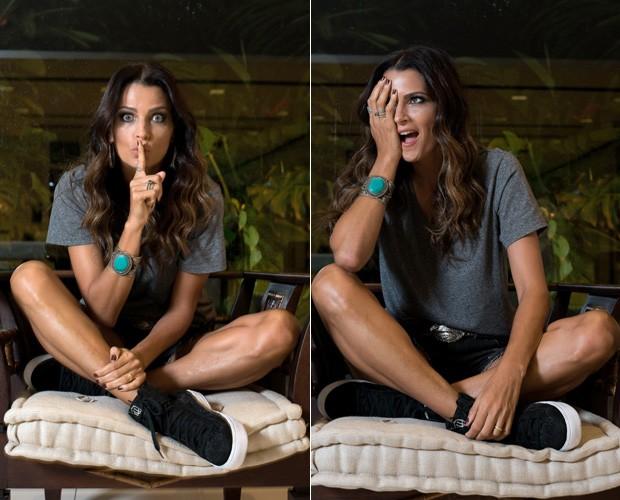 Fernanda Motta (Foto: Cleiby Trevisan/Ed Globo)