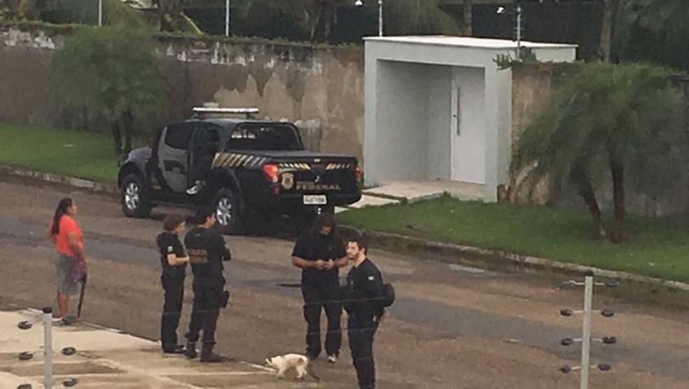 PF cumpre mandado de busca e apreensão em endereço de familiares do senador Romero Jucá (PMDB), em Roraima (Foto: Arquivo pessoal)