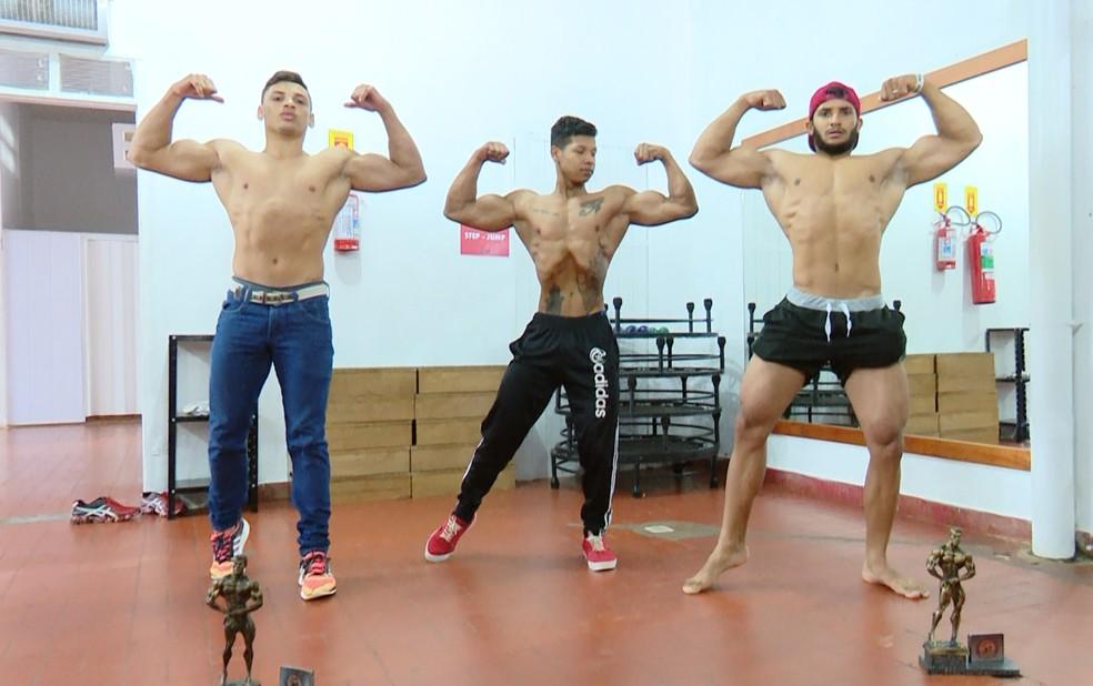 Fisiculturistas farão pesagens nesta sexta-feira — Foto: Rede Amazônica/Reprodução