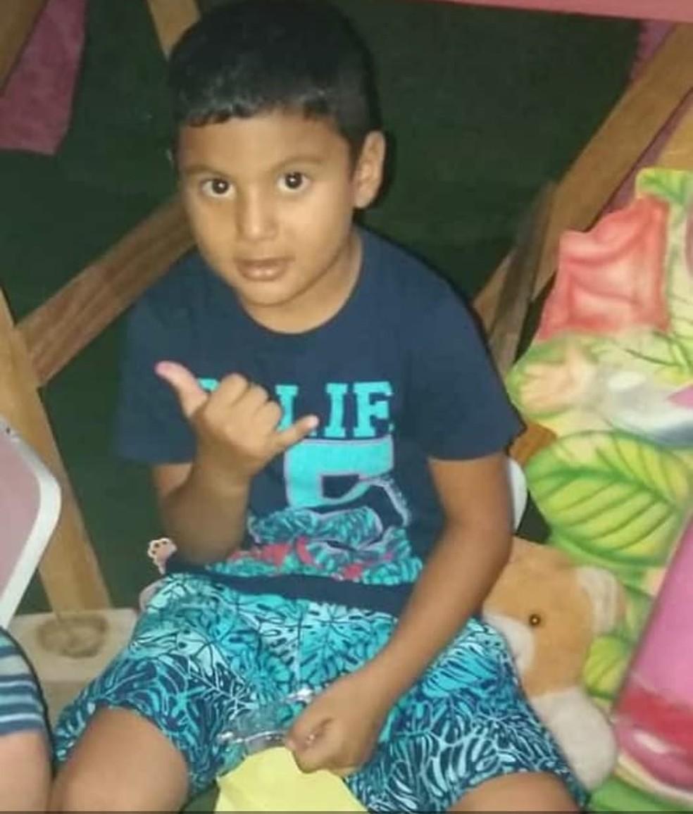 Criança de 5 anos morre após tentar cortar fio de ventilador no interior do Ceará. — Foto: Arquivo Pessoal