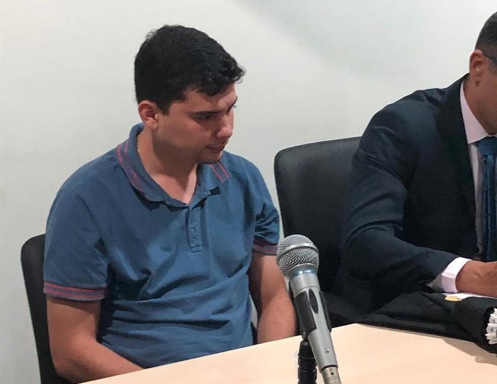 Carlos Diego foi condenado, mas recebe habeas corpus dias depois — Foto: Reprodução/ TV Mirante