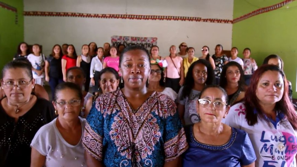 Rita Teixeira revolucionou a cidade de Capanema, no Pará, ao criou o MMBEPA - Movimento de Mulheres do Nordeste Paraense — Foto: TV GLOBO