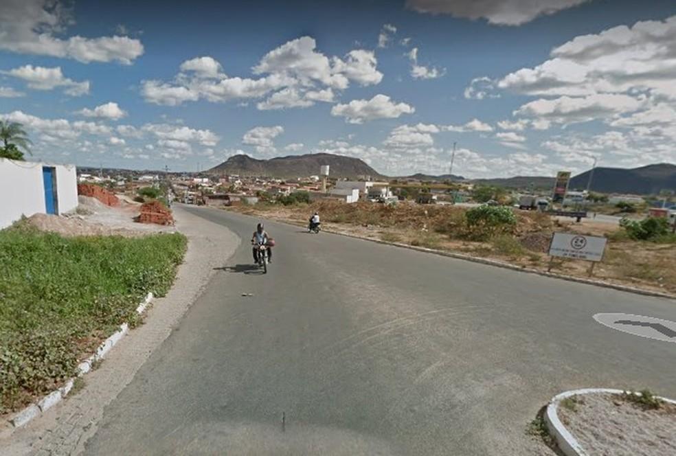 Agora, Salgueiro tem 439 casos confirmados e 14 mortes. — Foto: Reprodução/ Google Maps