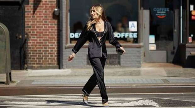 Sarah Jessica Parker é a estrela de uma campanha para a marca italiana Intimissimi (Foto: Reprodução/Ansa)