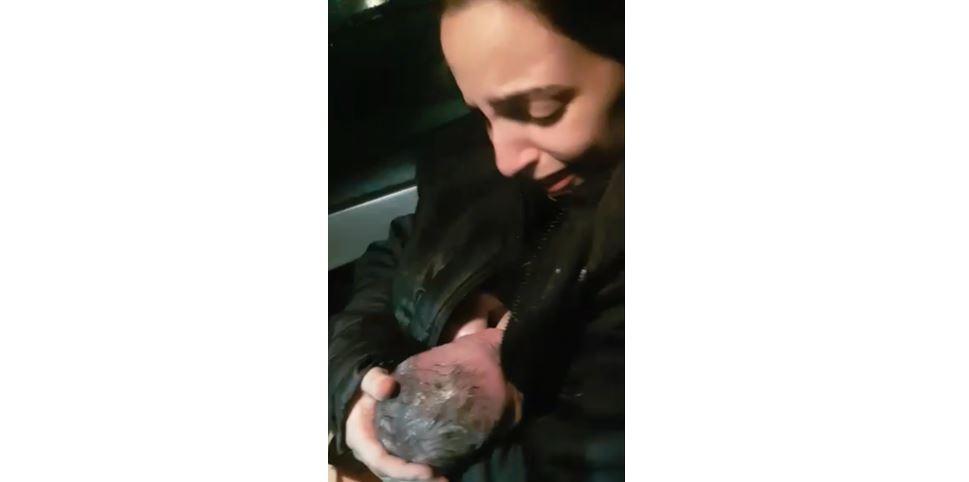 Bebê nasce dentro do carro em avenida de Foz do Iguaçu: 'Foi muito emocionante', diz mãe