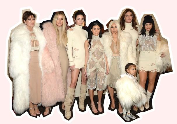 A família Kardashian-Jenner (Foto: Getty Images)