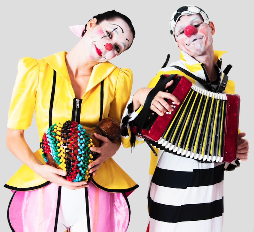 Espetáculo Gibi ocorre na Caixa Cultural Fortaleza. (Foto:  Flaviana Ox/Divulgação)