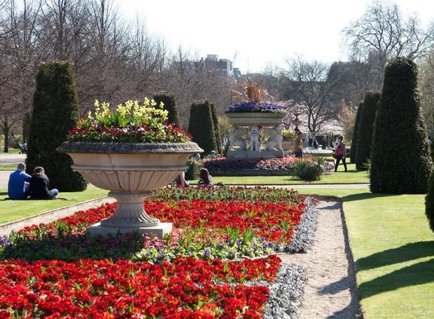 Regent's Park, em Londres (Foto: Royal Parks UK/ Reprodução)