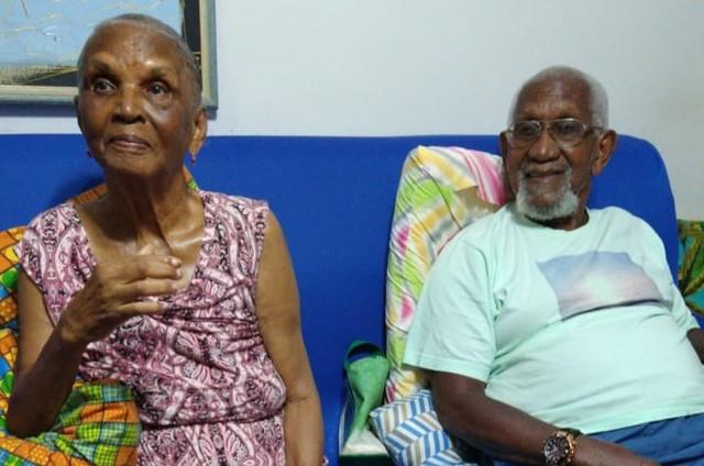 Chica Xavier e Clementino Kelé (Foto: Arquivo pessoal)