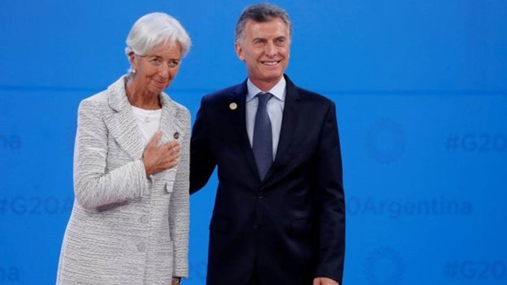 Macri and IMF Managing Director Christine Lagarde: Currency Crisis Pushes Argentina Back into the Arms of the Fund - Photo: KEVIN LAMARQUE / REUTERS
