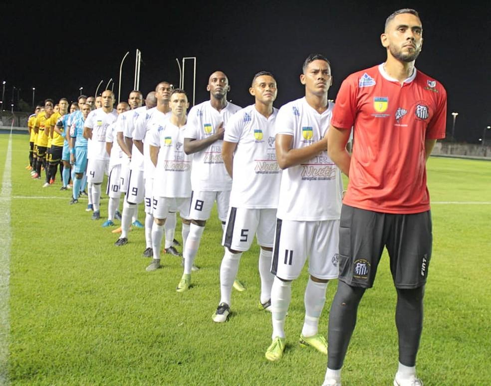 O Santos-AP liderava o Campeonato Amapaense depois de duas vitórias nas duas primeiras rodadas — Foto: Rosivaldo Nascimento/Arquivo Pessoal