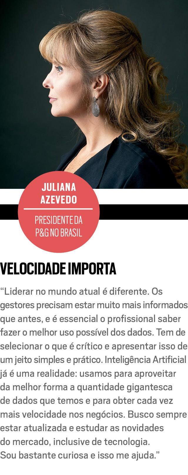 JULIANA AZEVEDO, presidente da P&G no Brasil (Foto: Marcus Steinmeyer)