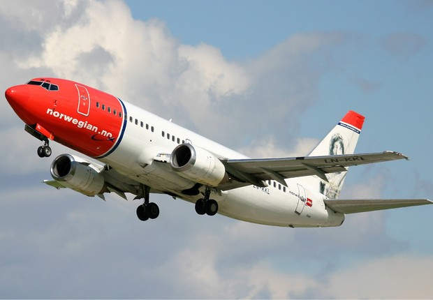 Avião da companhia aérea Norwegian Air Shuttle (Foto: Wikimedia Commons/Wikipedia)