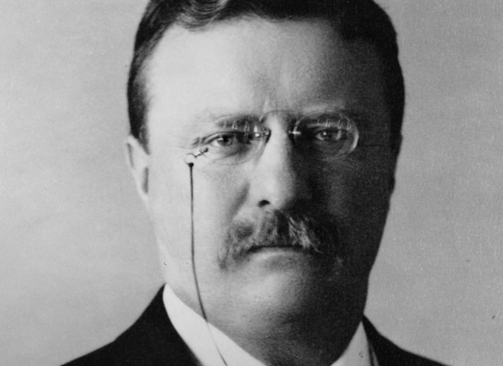 Teddy Roosevelt passou dois anos na Dakota do Sul depois da morte de sua primeira mulher. — Foto: Casa Branca