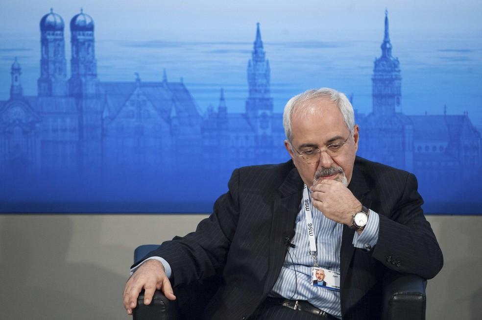 -  Ministro das Relações Exteriores do Irã, Mohammad Javad Zarif, em imagem de arquivo  Foto: Lukas Barth/Reuters