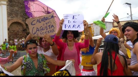 'As Vigienses' e 'os Cabrasurdos' animam o carnaval de Vigia