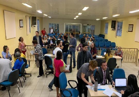 Tribunal de Justiça realiza mutirão de conciliação  em Abaetetuba - Noticias