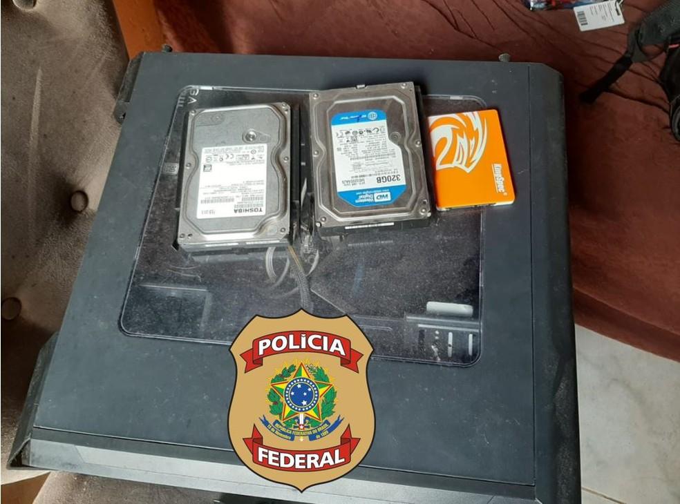 Sete mandados estão sendo cumpridos — Foto: PF/Divulgação