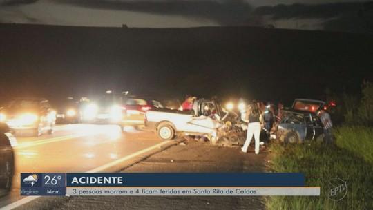 Acidente deixa 3 mortos e 4 feridos em estado grave na BR-459 em MG