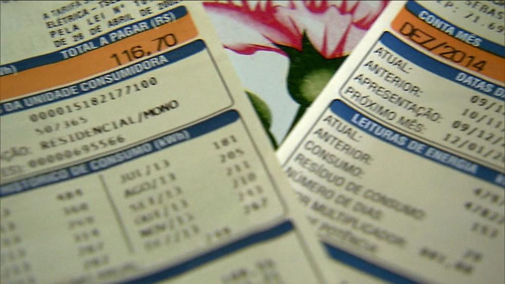 Conta de luz vai ficar mais cara no estado a partir da próxima quinta-feira (13).  — Foto: GloboNews