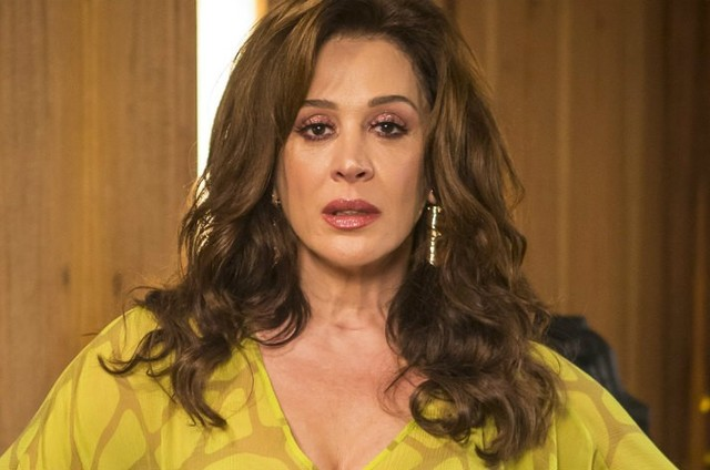 Claudia Raia é Lidiane (Foto: TV Globo)