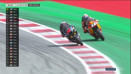 Francesco Bagnaia vence o GP da Áustria de Moto2