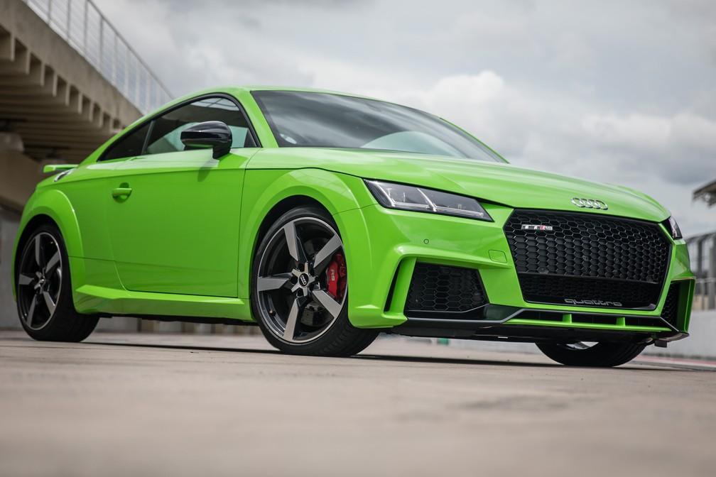 Audi TT RS  (Foto: Fábio Tito/G1)