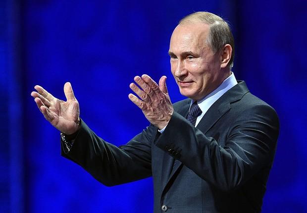 Vladimir Putin, presidente da Rússia  (Foto: Dennis Grombkowski/Getty Images)