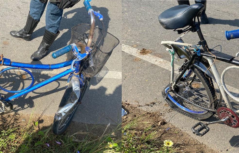 Ciclista morre e outro fica ferido em acidente de trânsito na Zona Sul de Aracaju — Foto: Reprodução/CPTran
