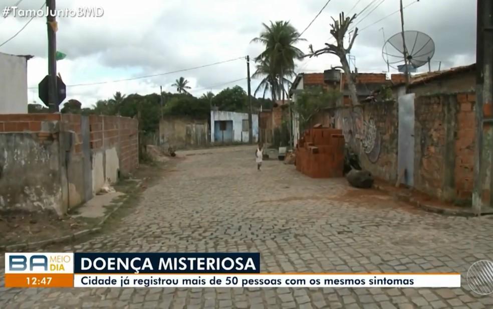 Casos aconteceram no bairro Nova Esperança, em Coração de Maria (Foto: TV Subaé)