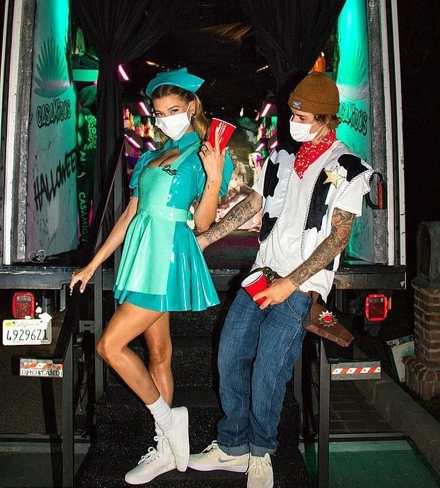 Hailey e Justin Bieber (Foto: Reprodução / Instagram)