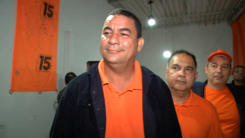 Luciano Vidal foi eleito prefeito de Paraty — Foto: Reprodução/TV Rio Sul