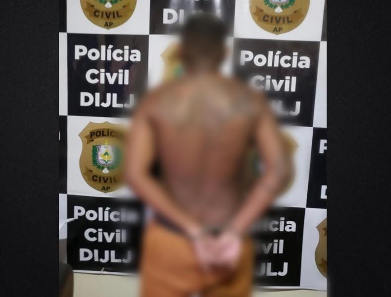 Foragido por matar criança a tiros é capturado quase 1 ano após o crime no sul do Amapá