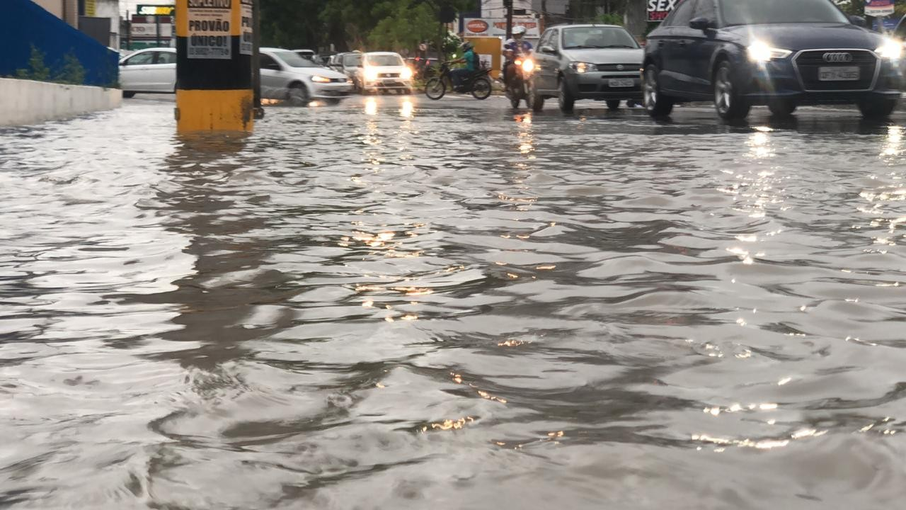 Alerta de chuvas é emitido para João Pessoa e outras 12 cidades da Paraíba