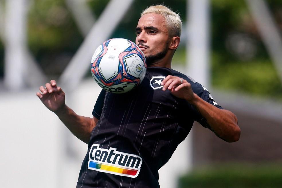 Rafael já começou a treinar com o Botafogo — Foto: Vitor Silva/Botafogo