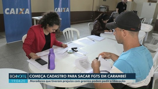 Moradores de Carambeí já podem fazer cadastro para sacar FGTS