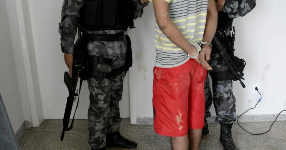 Segundo foragido foi preso nesta terça, 26 (Foto: Jeferson Carlos/G1)